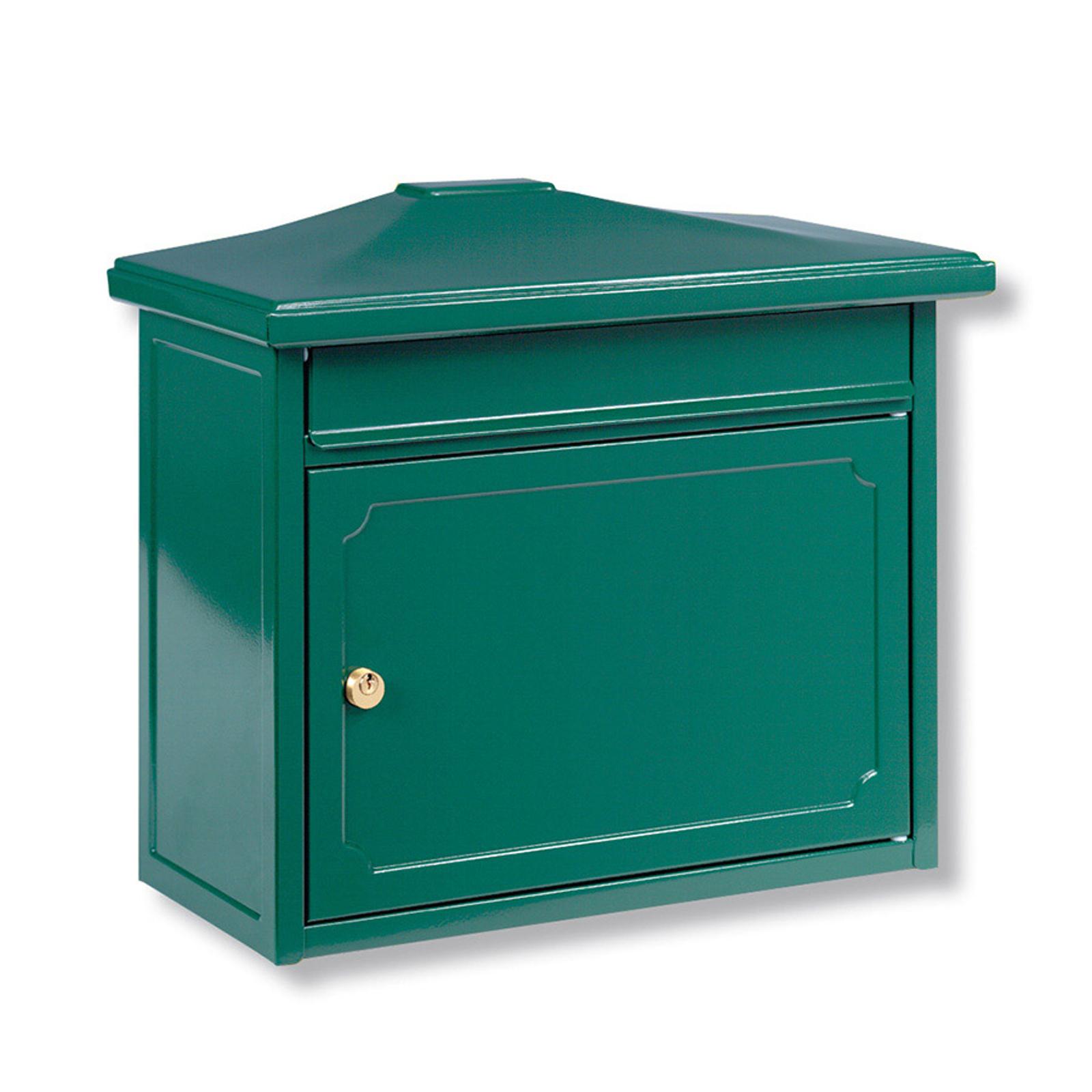 Grønn COPENHAGEN postkasse