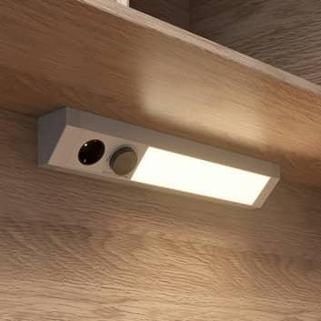 Arcchio Kimani LED-Unterbauleuchte, CCT, silber