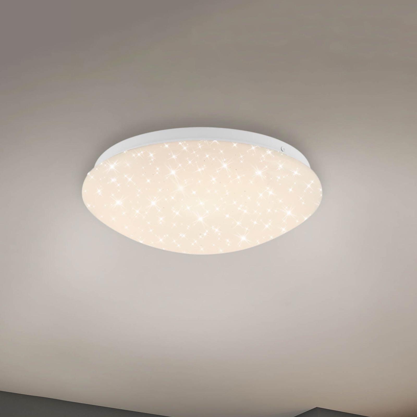 3256-016 LED-loftlampe med stjernedekoration, RGBW