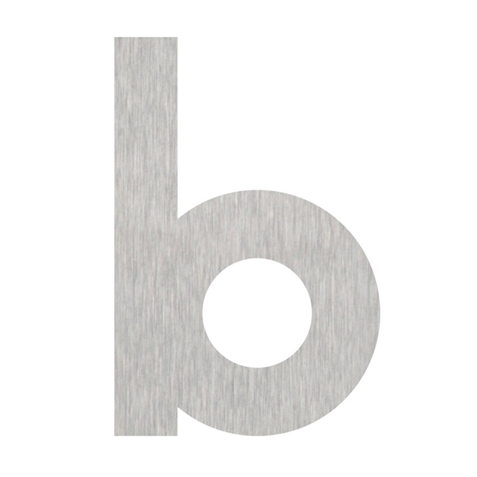 Números de casa letra b