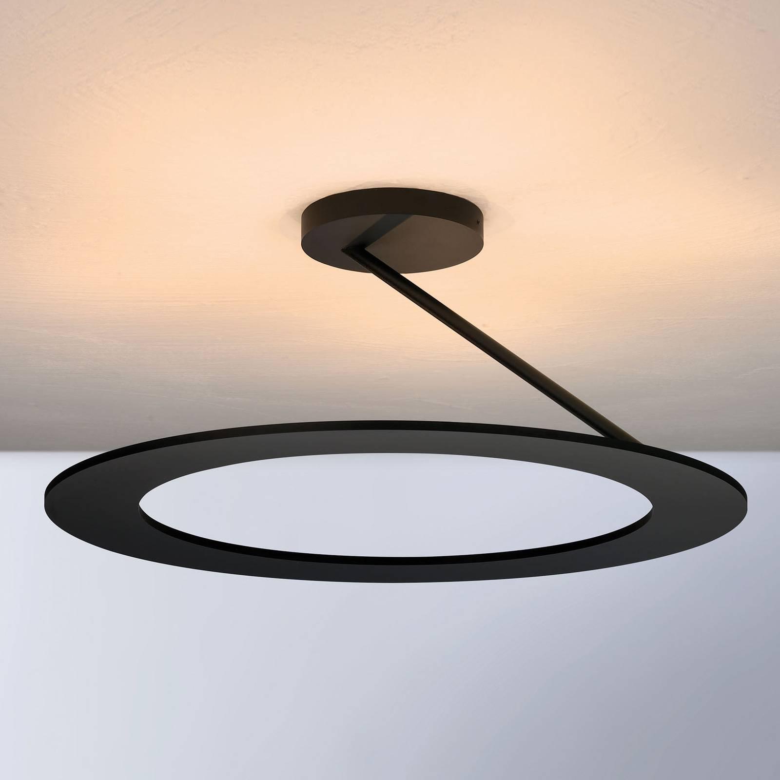 Bopp Stella lampa sufitowa Ø 45cm czarna