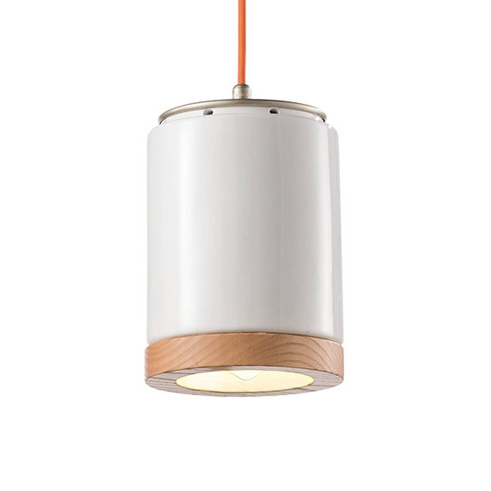Lampa wisząca C988 w stylu skandynawskim biała