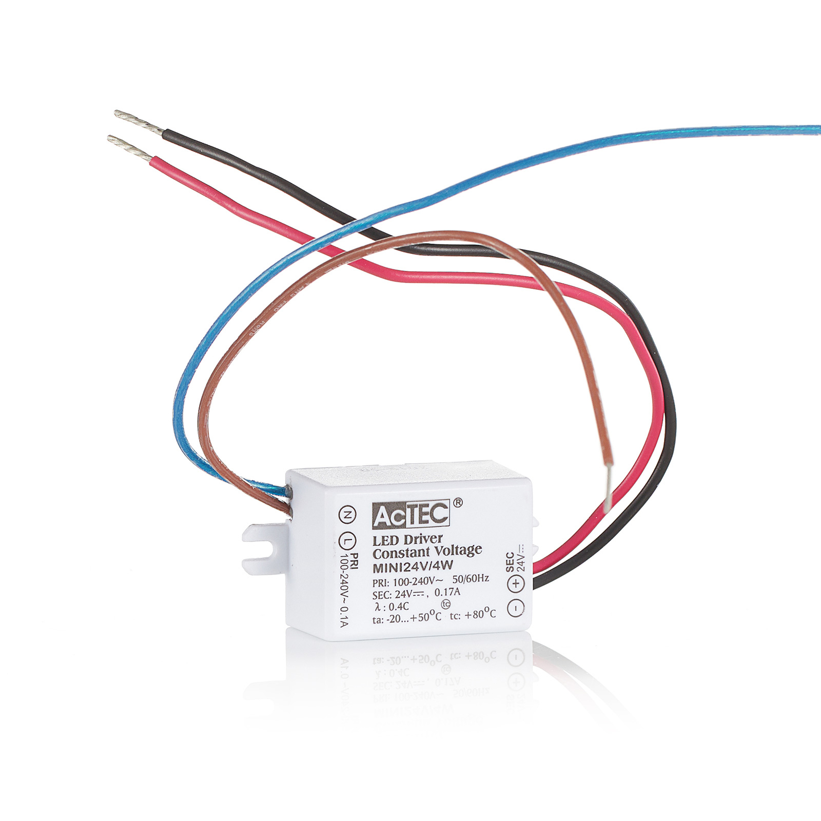 AcTEC Mini LED driver CV 24V, 4W IP65