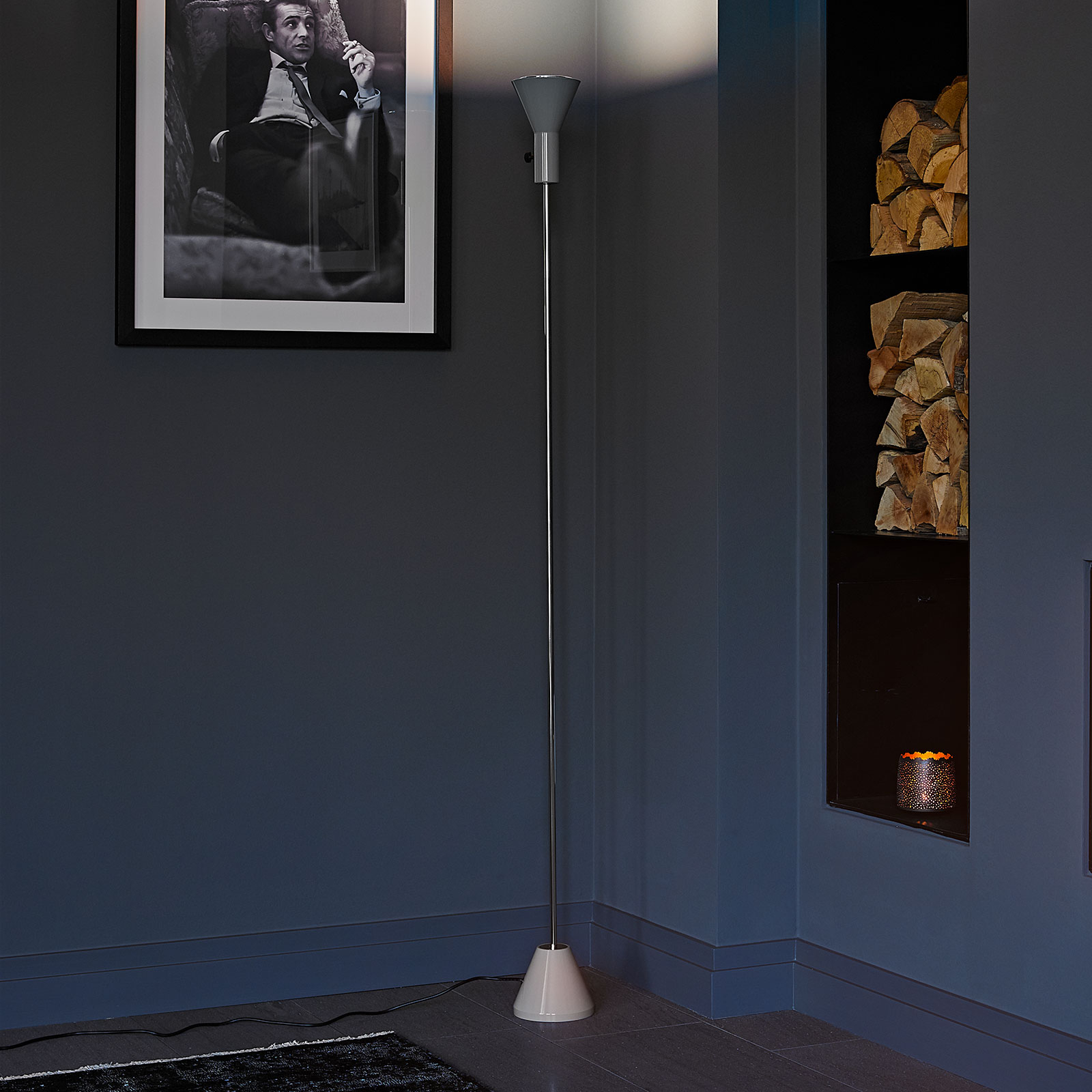 Lampadaire LED Gru avec variateur d'intensité
