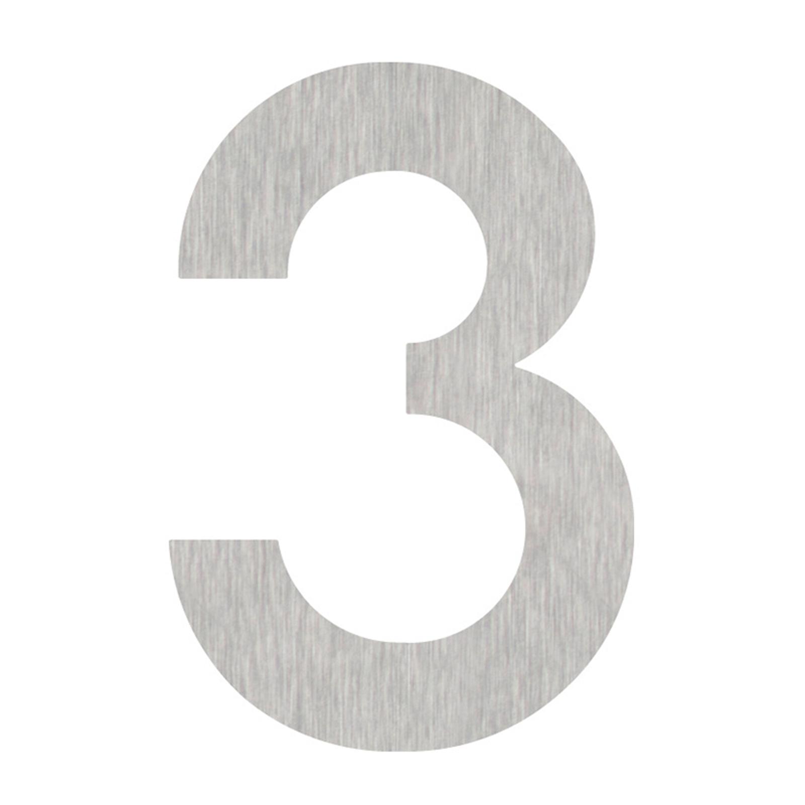 Produktové foto Heibi Domovní čísla číslice 3