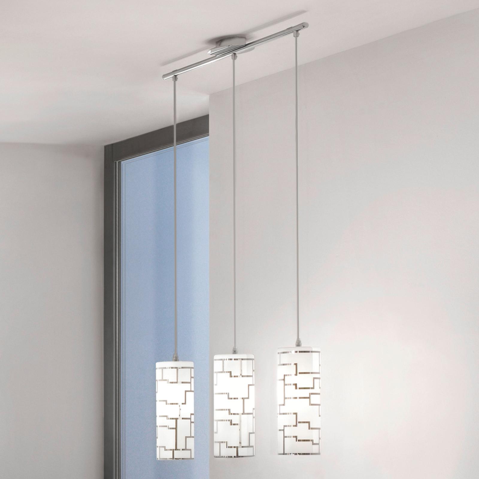 Bayman – 3-punktowa lampa wisząca, linie