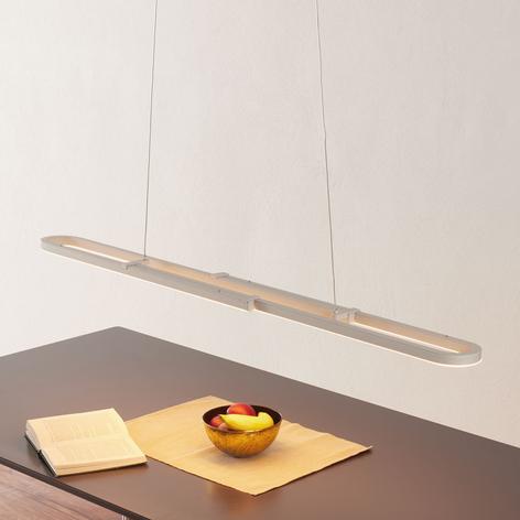 Marga - hvid LED-pendellampe, variabel længde