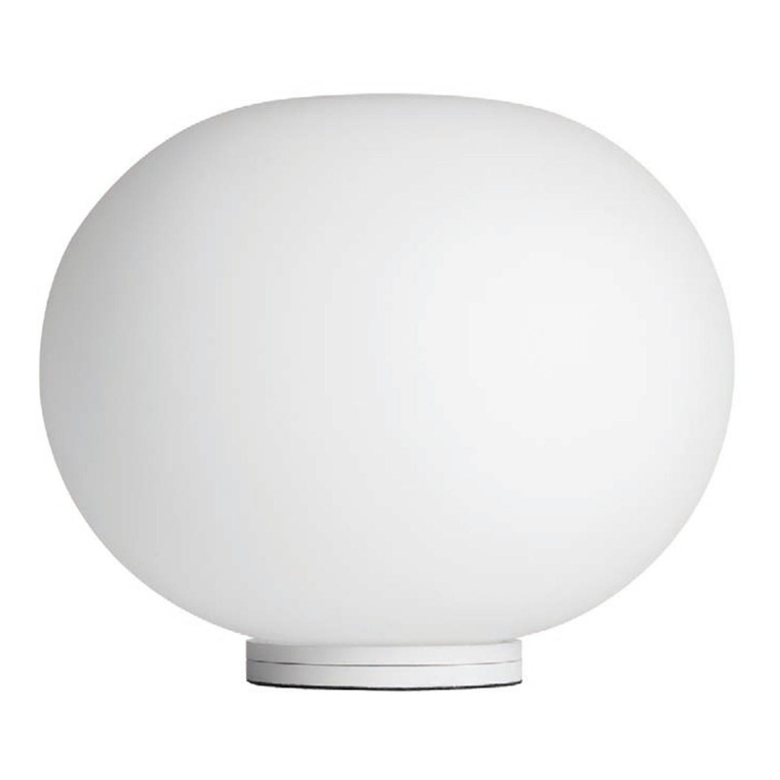 FLOS Glo-Ball Basic Zero - bílá stolní lampa