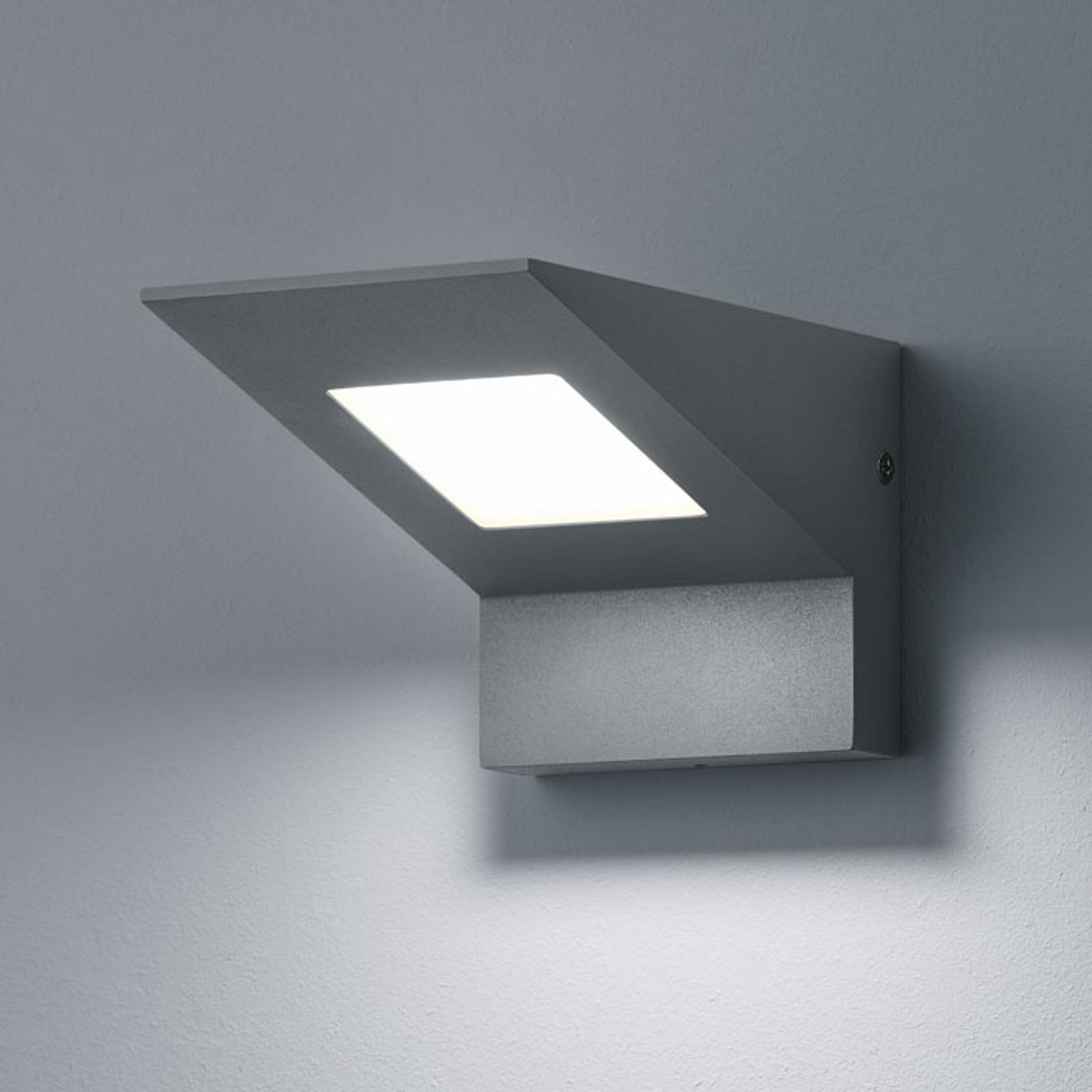 LED-Außenwandleuchte Nelson, anthrazitfarben