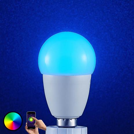Lindby Smart żarówka LED Wifi E14 4,5W, RGB kropla