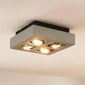 Osvětlení GU10 Vince s LED žárovkami