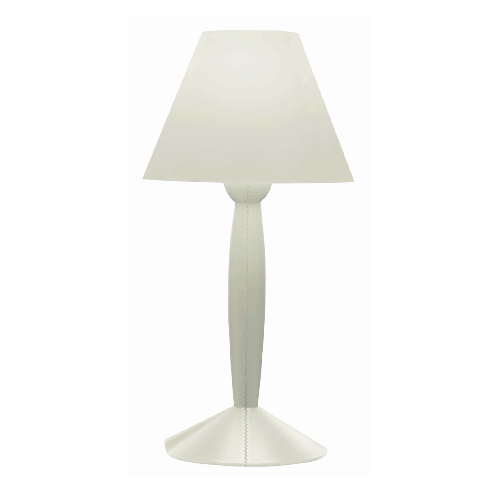 FLOS Miss Sissi - lampa stołowa, biała