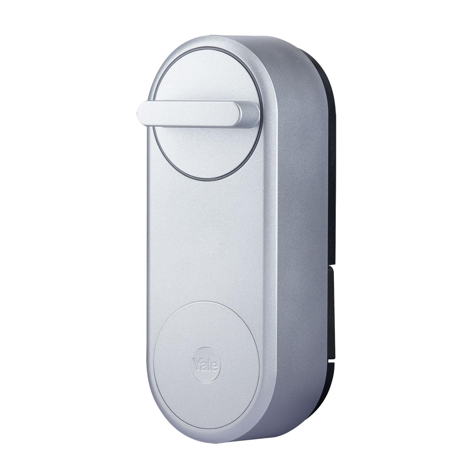 Yale Linus Smart Lock Türschloss, silber
