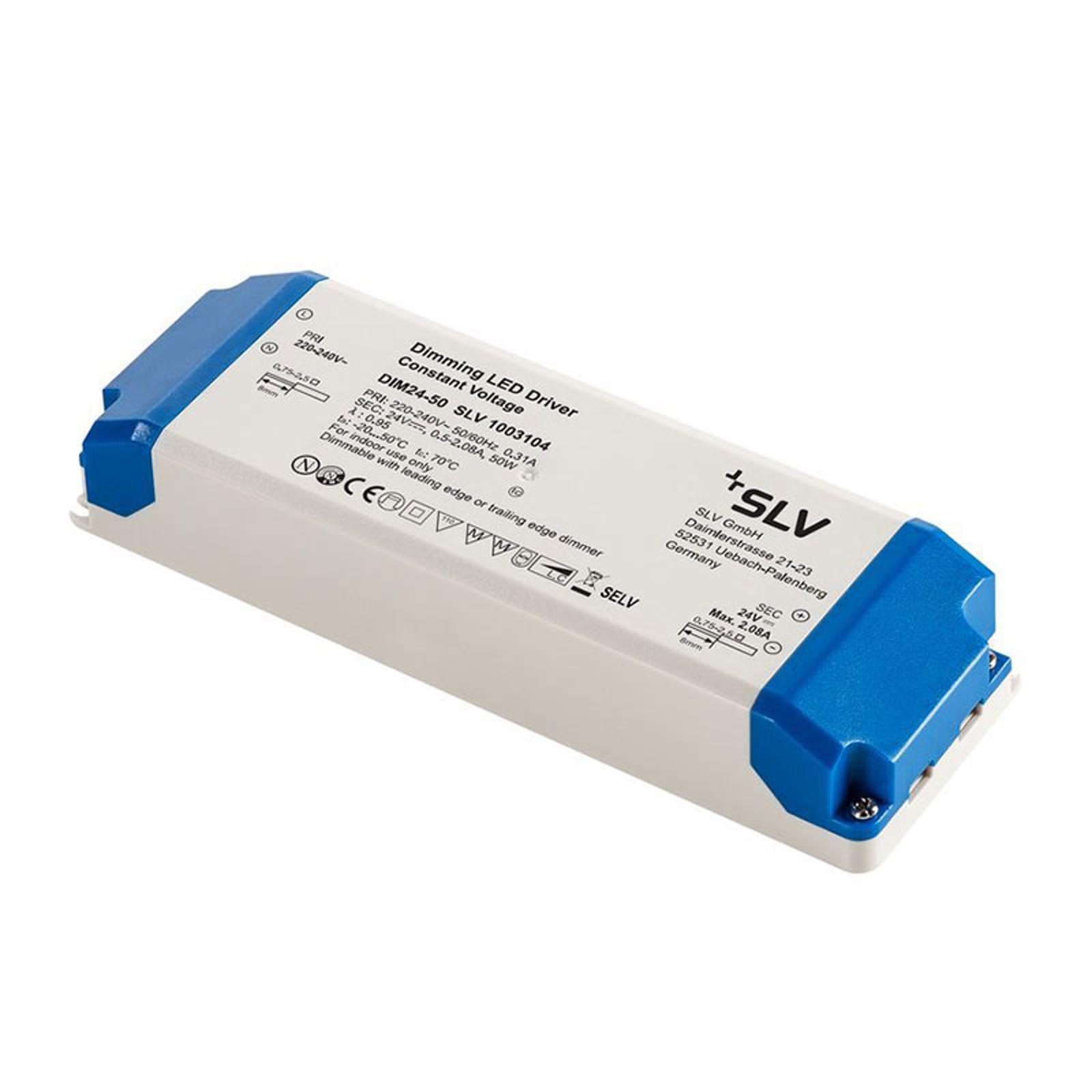 SLV LED-Treiber 24V, 50W, TRIAC-dimmbar