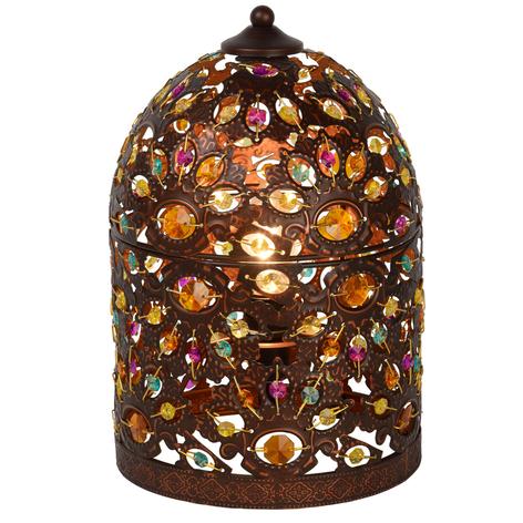 Decorative Byrsa table lamp