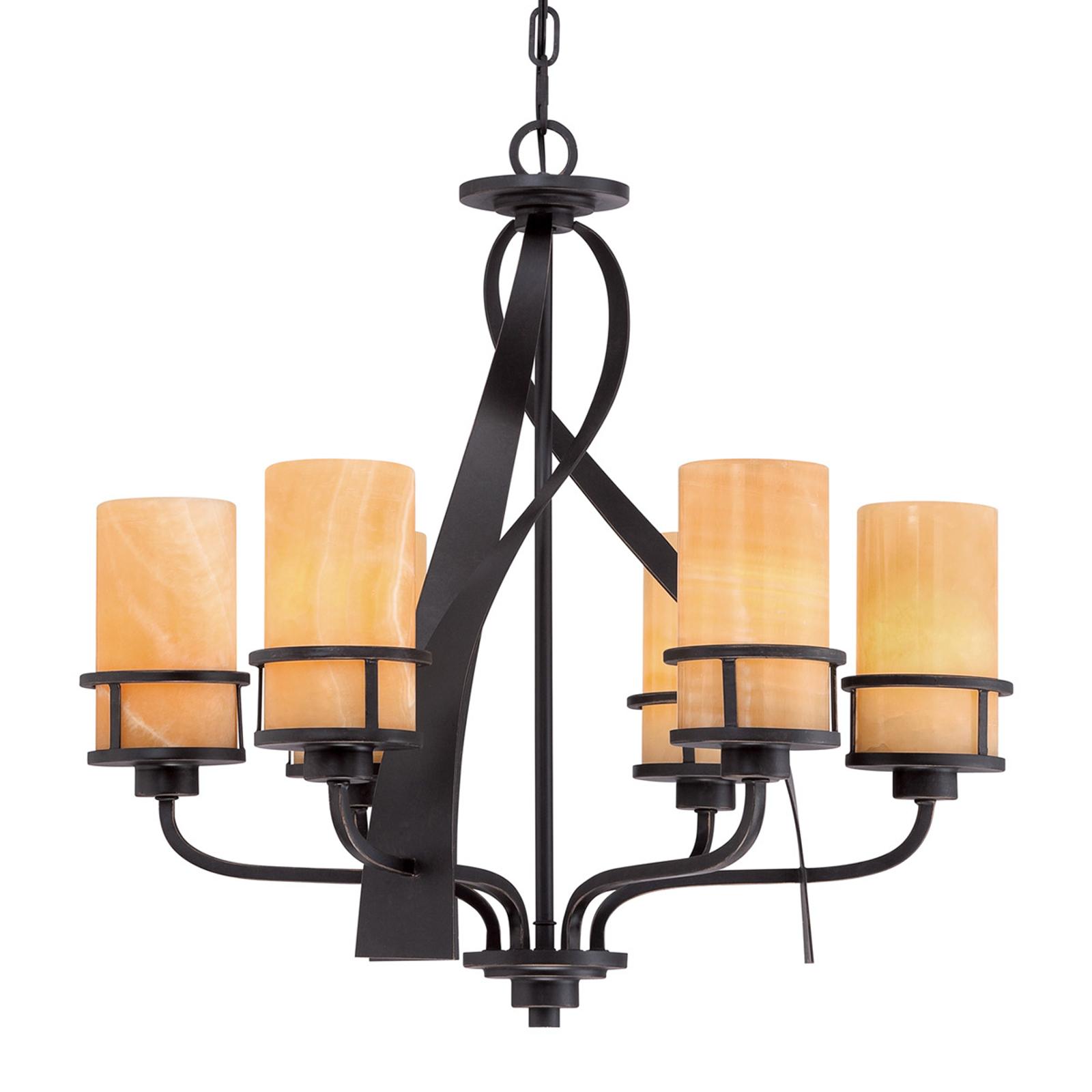 6-light chandelier Kyle_3048337_1