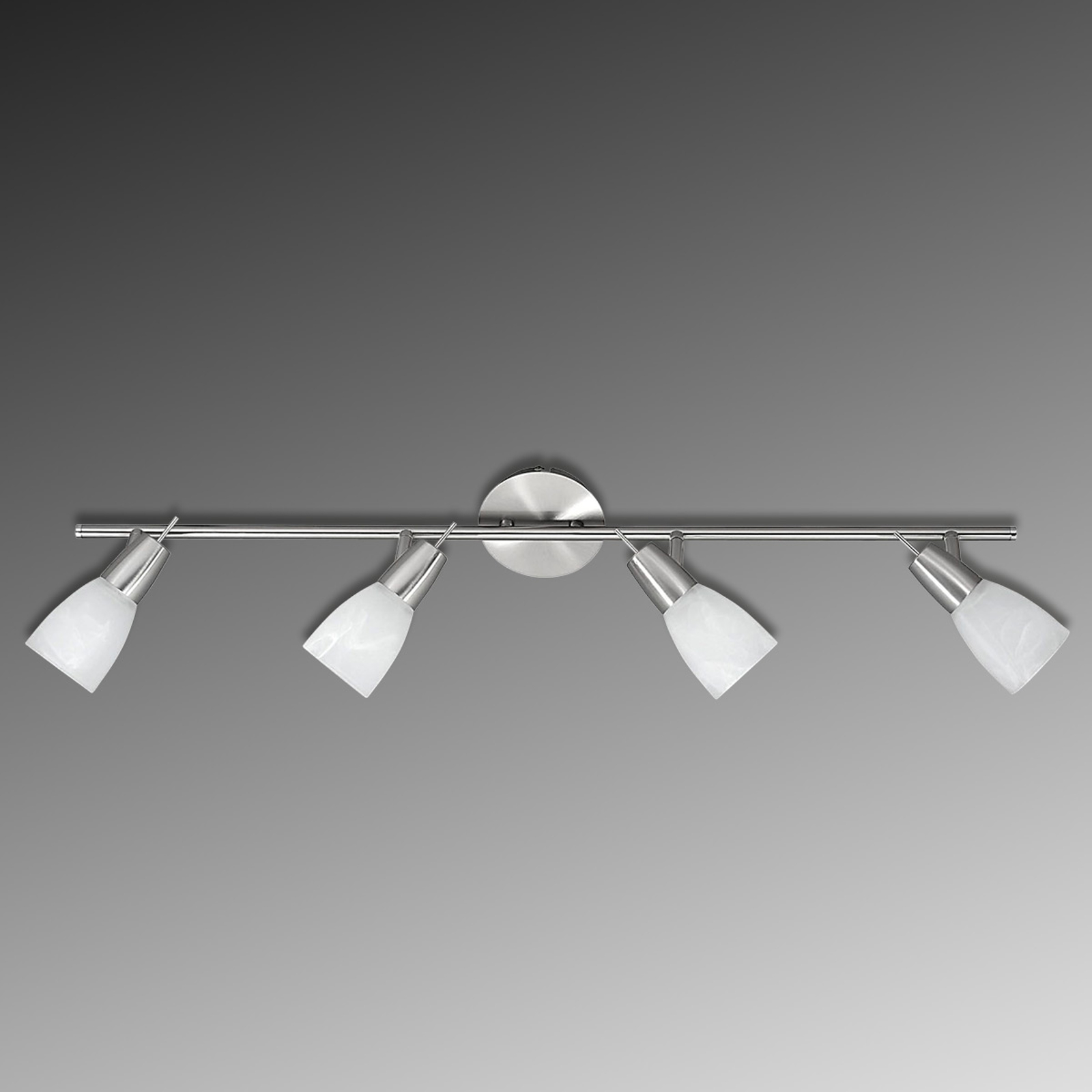 Lampa sufitowa LED JULIA z marmurkowymi kloszami