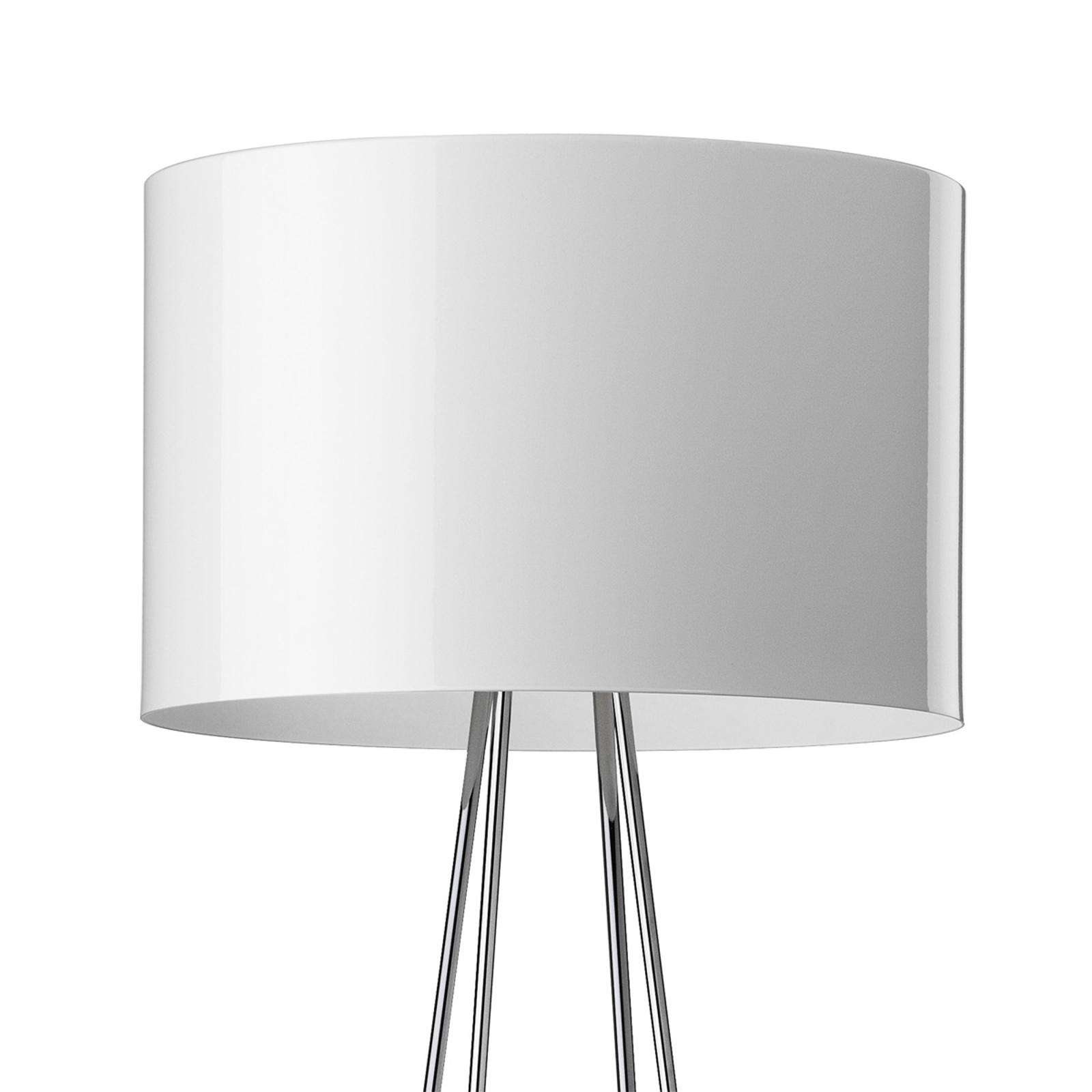 RAY F2 - golvlampa med vit skärm
