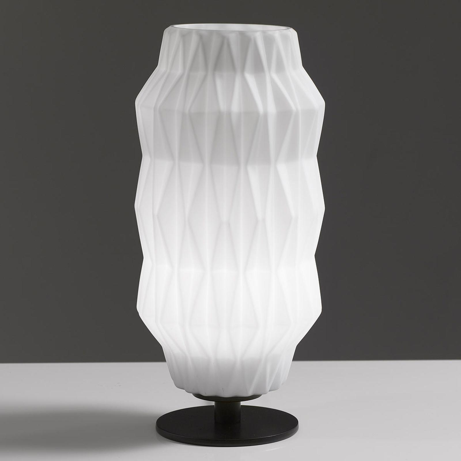 Lampa stołowa Origami, biała