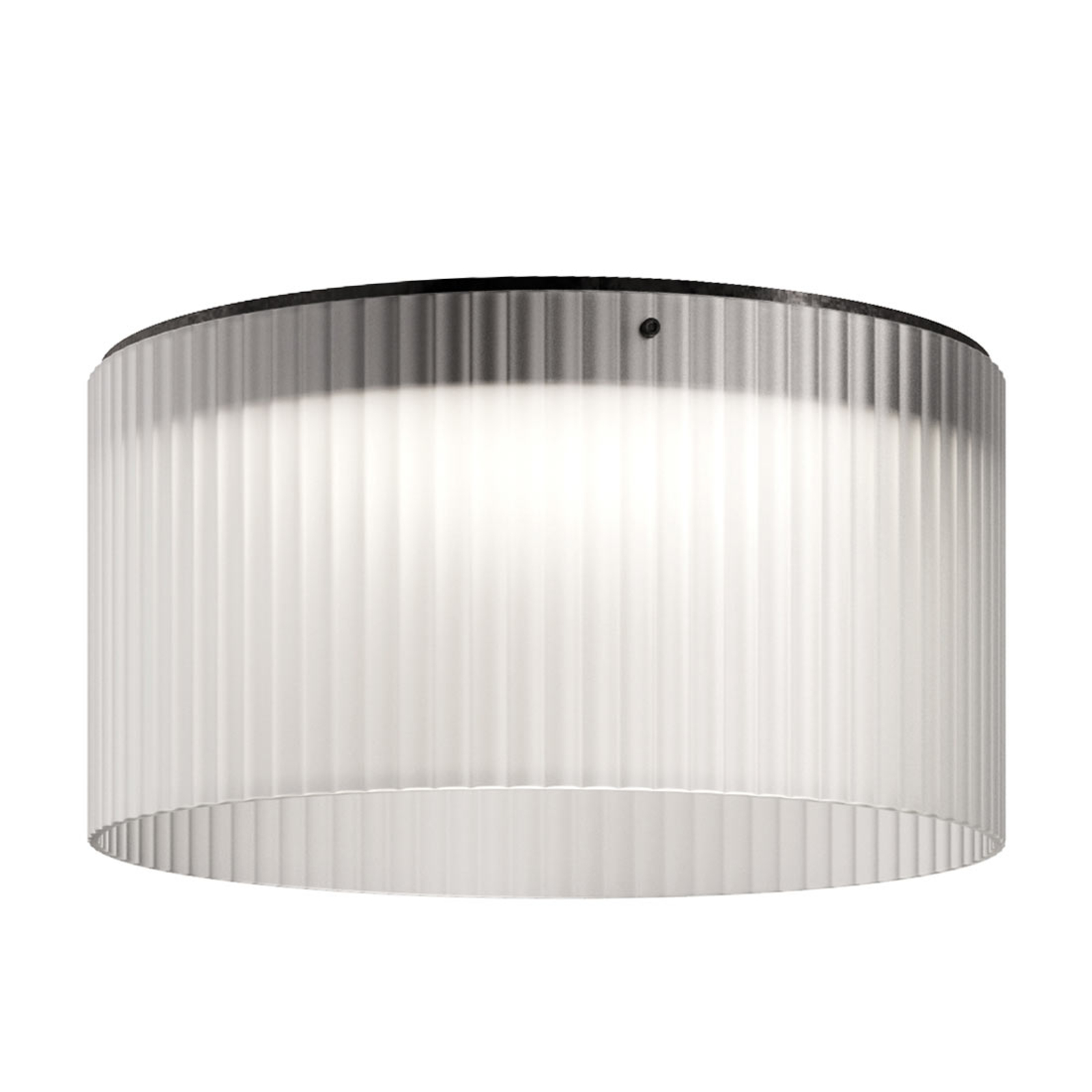 Kundalini Giass - LED-loftlampe Ø 50 cm, hvid