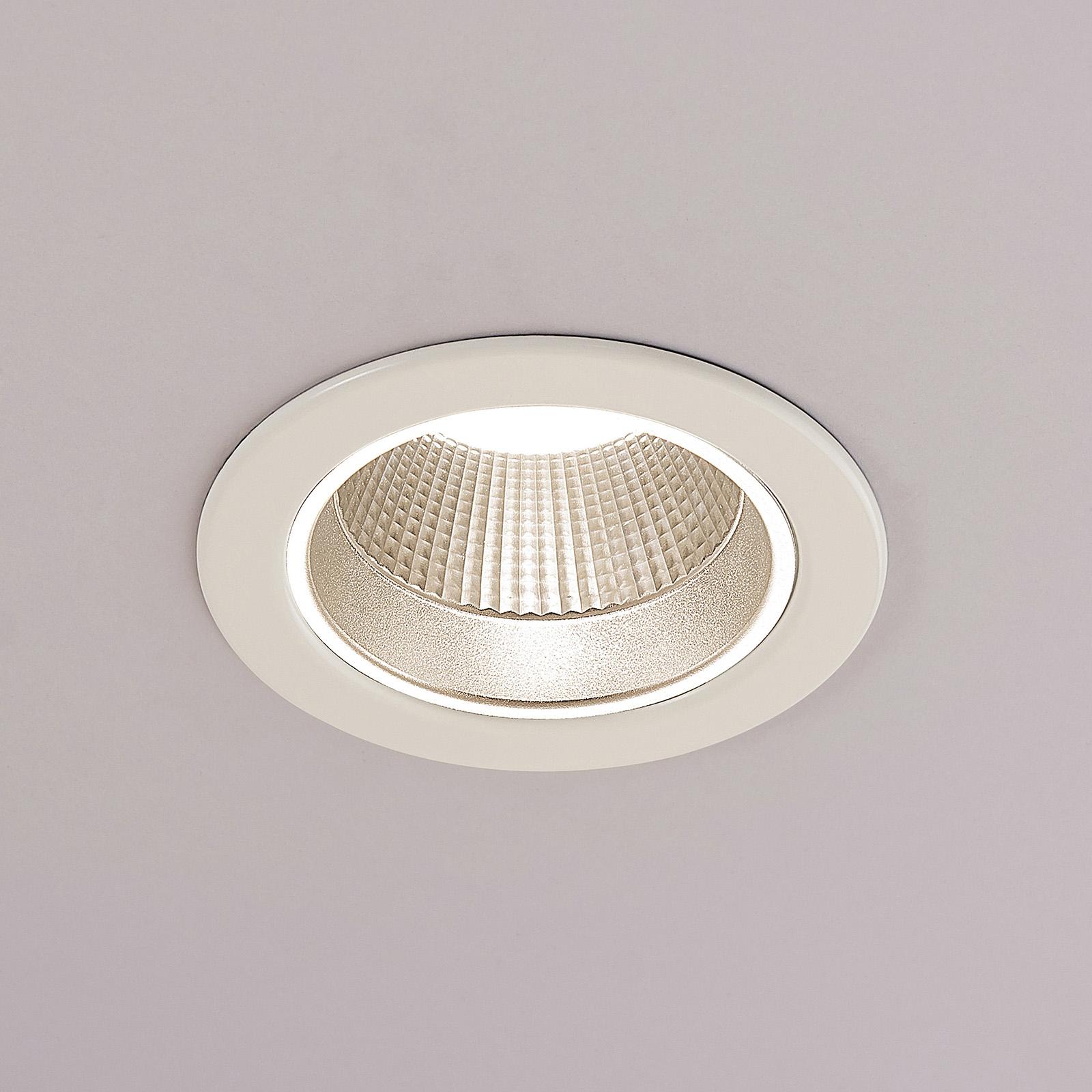 Arcchio Delano LED inbouwspot, Ø 11,3 cm