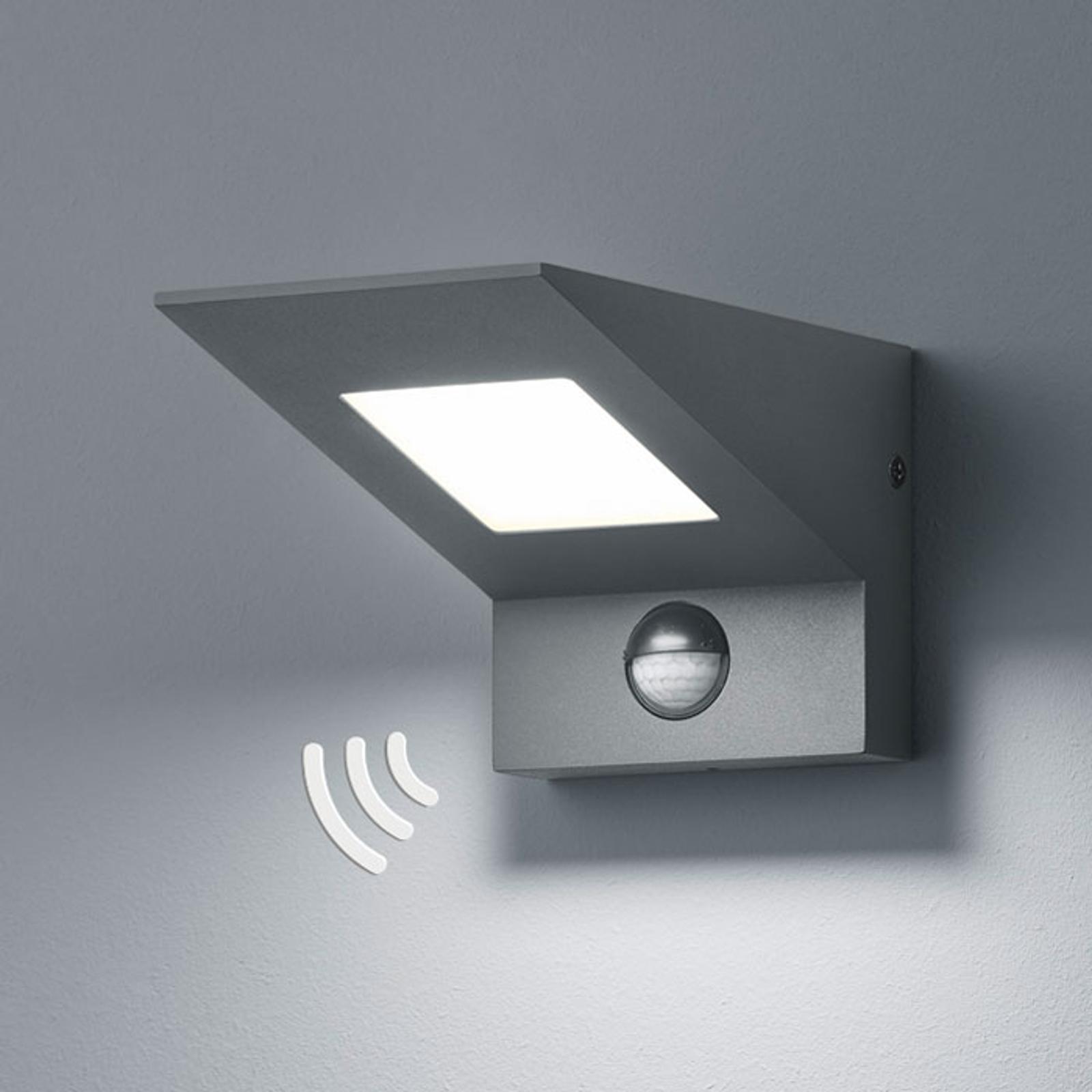 LED-Außenwandleuchte Nelson, mit Sensor