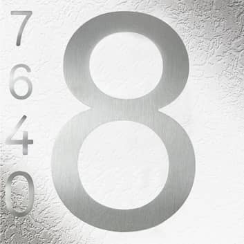 Rvs huisnummers, goede kwaliteit