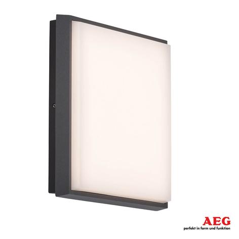 Vierkante LED buiten wandlamp Letan Square - 23 W