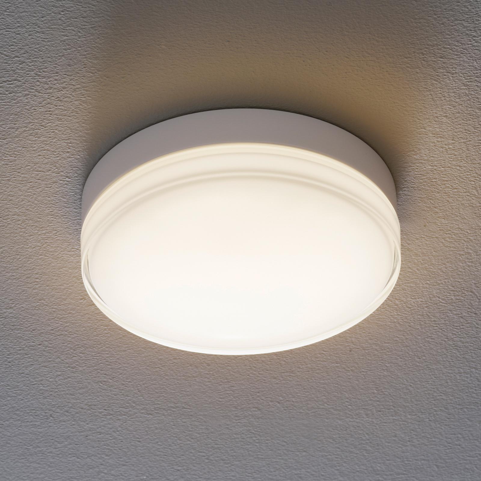 BEGA 12128 LED-loftlampe DALI 930 hvid 26 cm