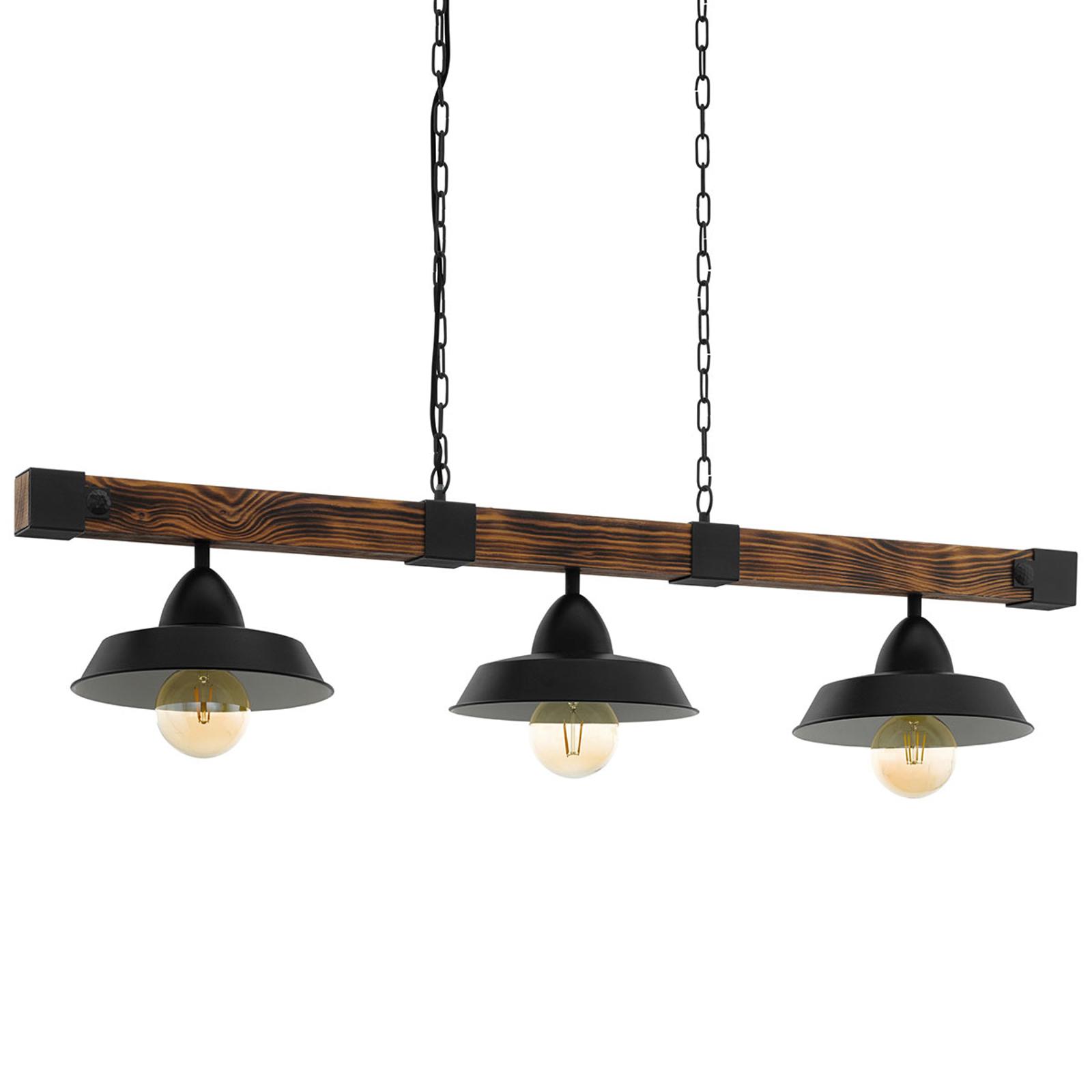 Lampa wisząca Oldbury o rustykalnym wyglądzie