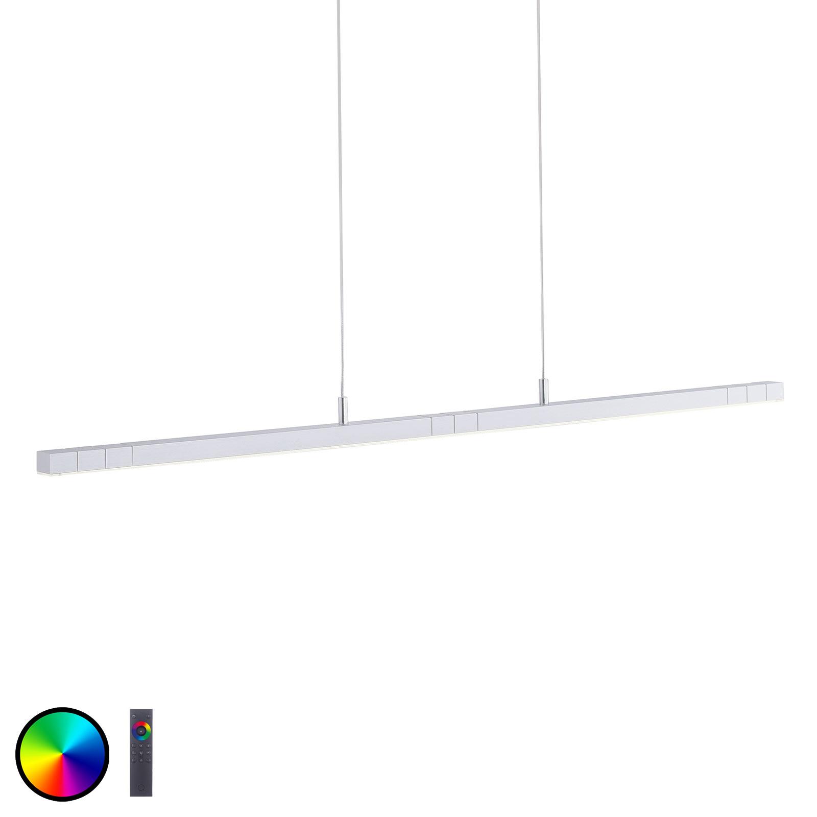 Paul Neuhaus Q-VIOLA lampa wisząca LED, RGBW