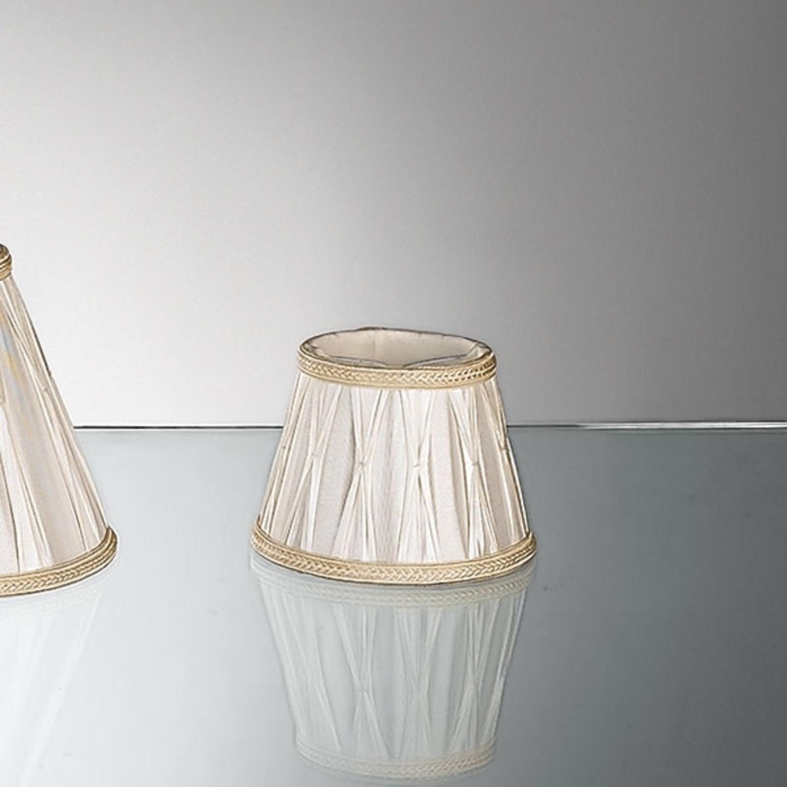 Abat-jour pour lampes à poser en plissé 15,5 cm