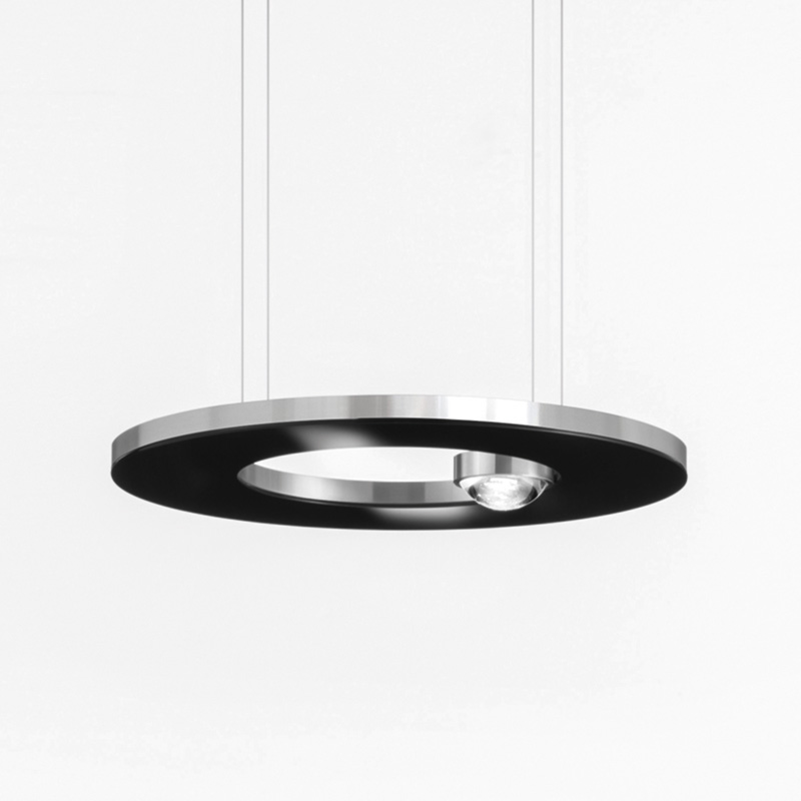 Cini&Nils Passepartout25 suspension LED noire