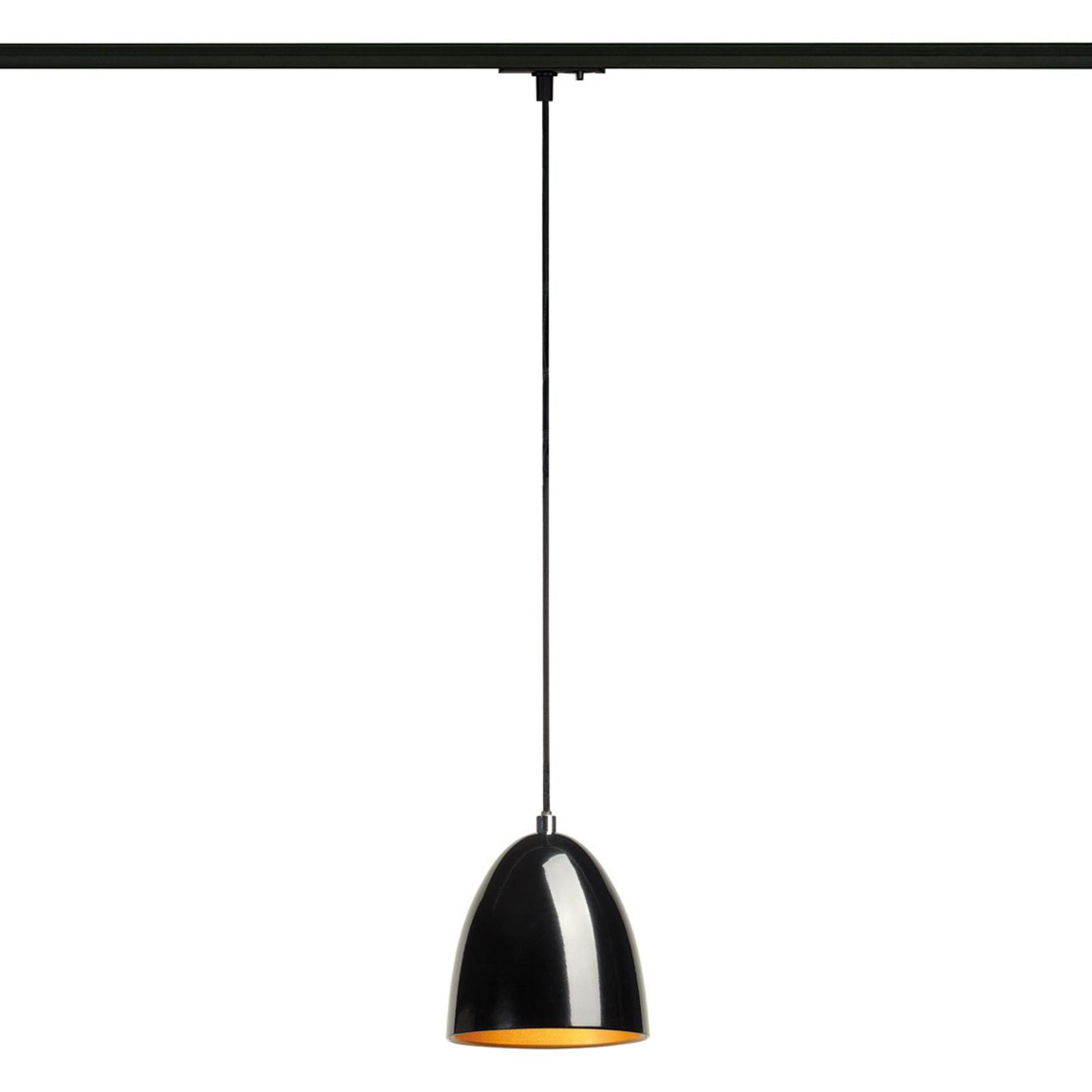 Black-gold Para Cone hanging lamp 1-circuit tracks_5504690_1