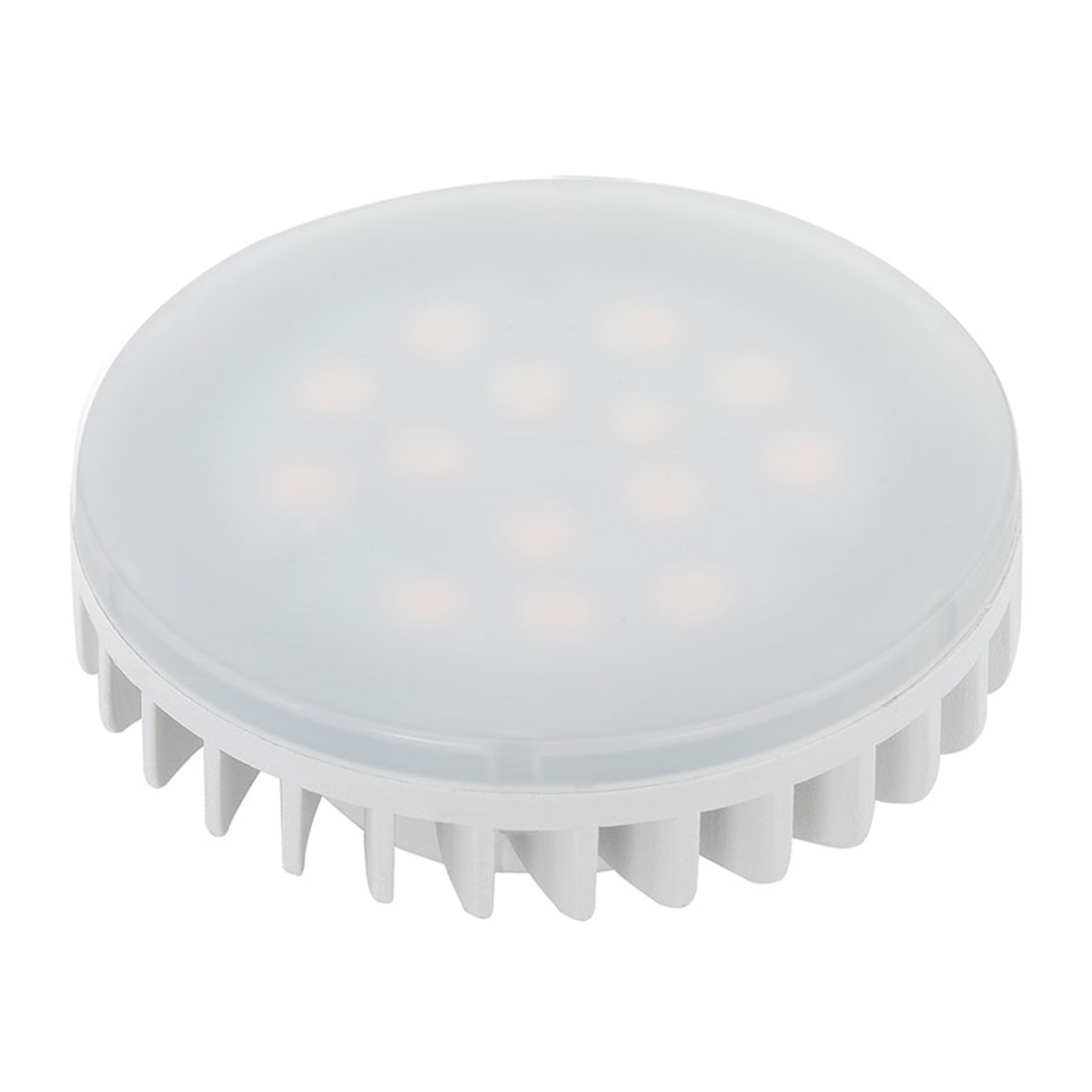 Żarówka LED GX53 6W, ciepła biel, matowa