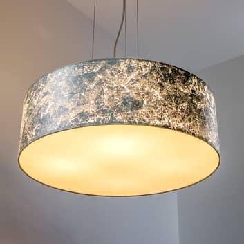 Taklampa Aura med silverfärgad skärm