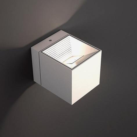 LED-vegglampe Dau i hvitt