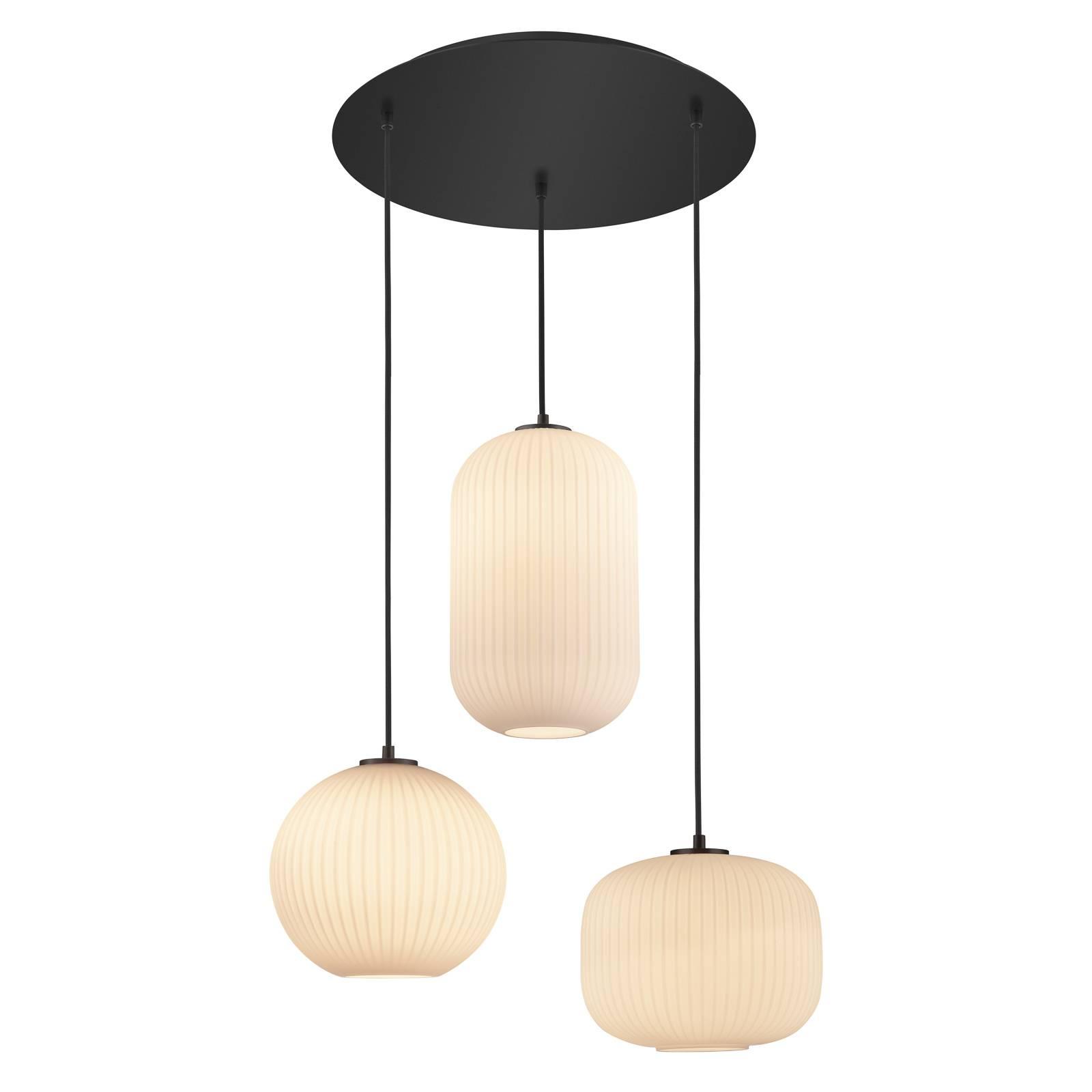 B-Leuchten Loft suspension ronde à 3 lampes