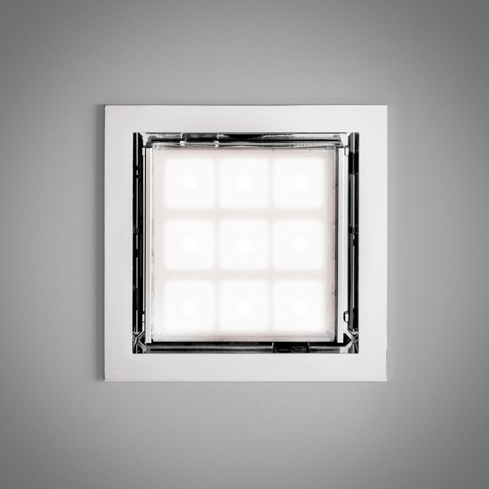 LED taklampen PAD 80 med justerbar linse