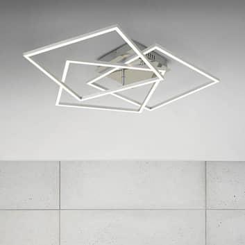 Frame WiFi CCT, telecomando, alluminio, 57x57 cm