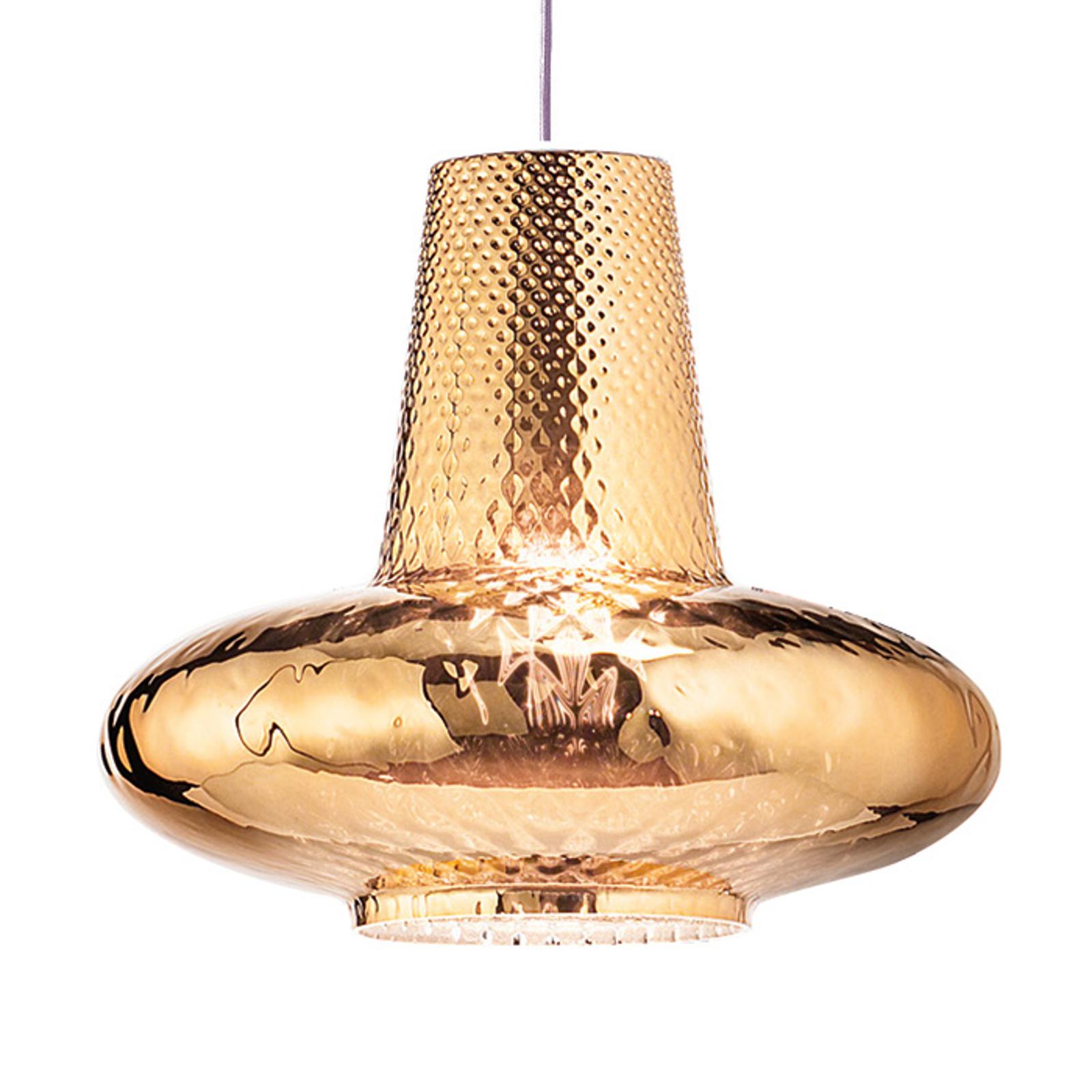 Lampa wisząca Giulietta 130cm stare złoto metalik