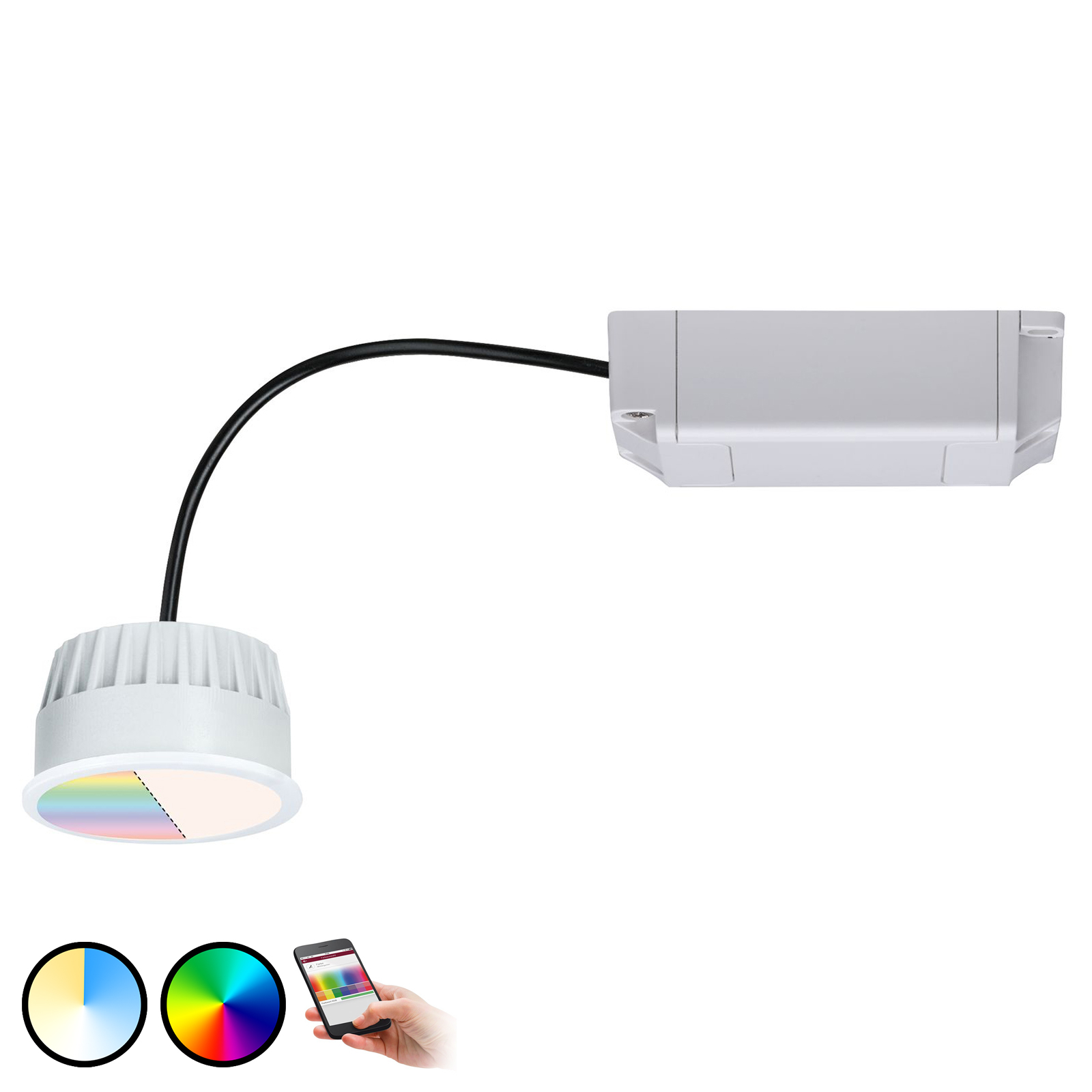 Paulmann Smart Friends ZigBee moduł LED Coin, RGBW