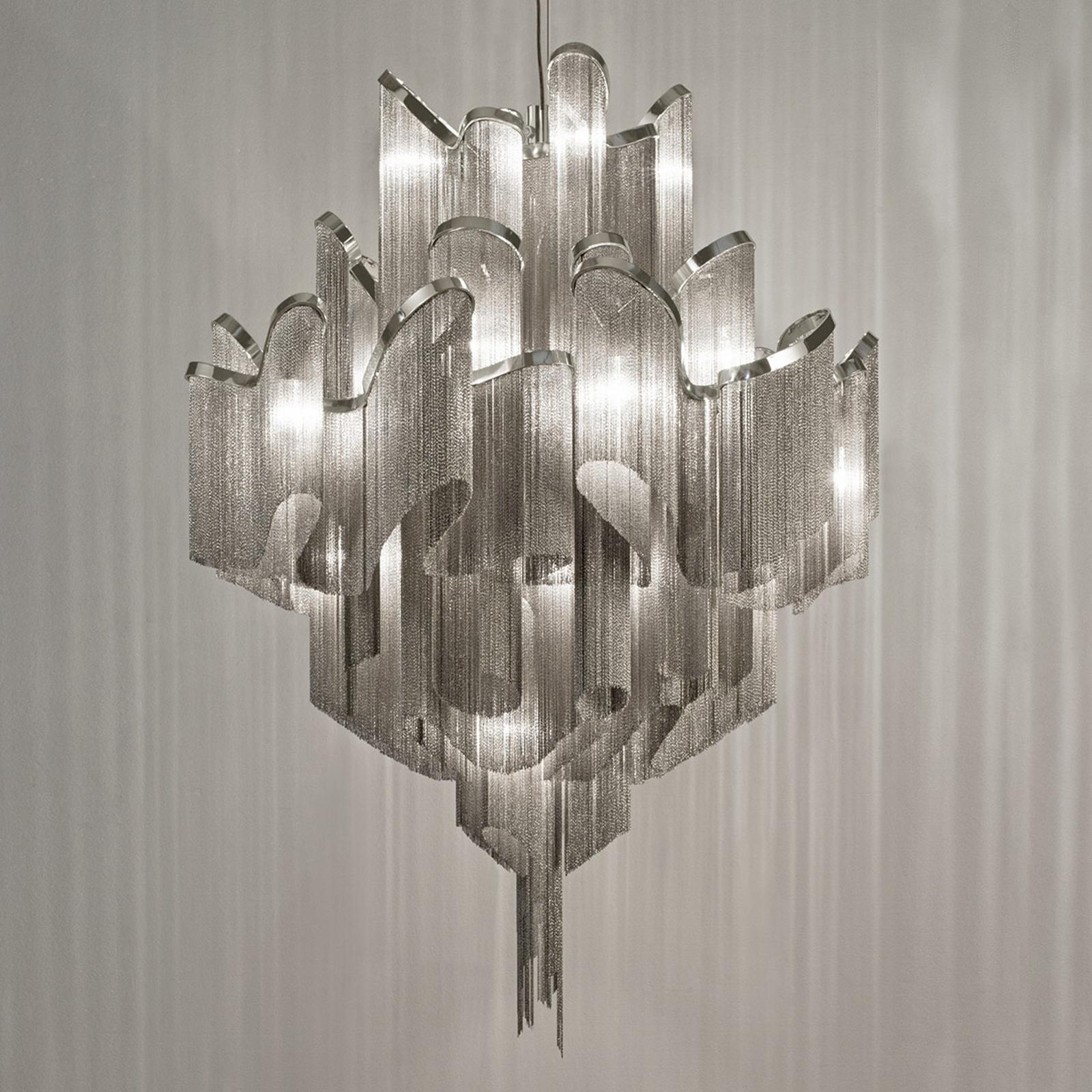 Stream - ekskluzywna lampa wisząca, 110cm