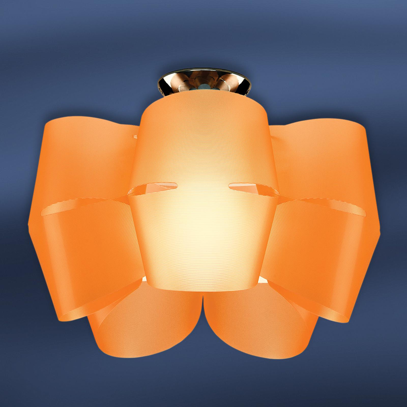 Plafón Sky Mini Alien naranja