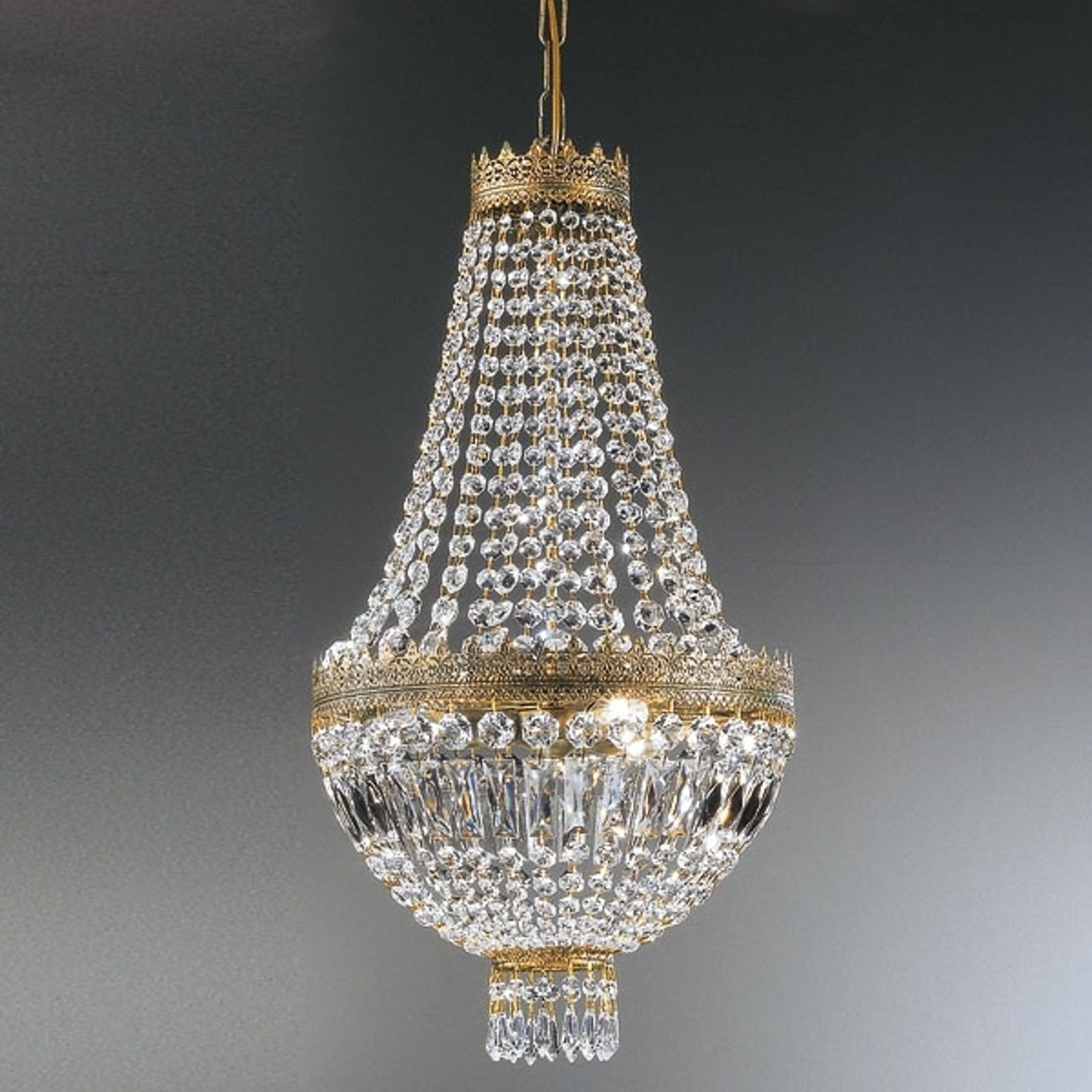 CUPOLA krystall-pendellampe