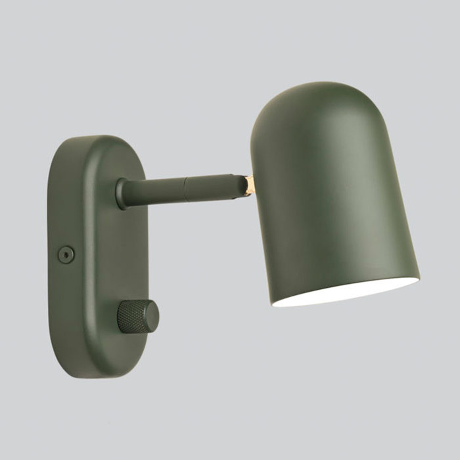 Northern wandlamp Buddy wall donkergroen