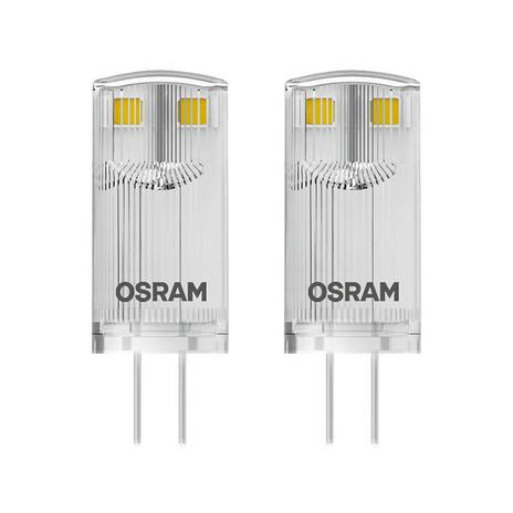 Żarówka sztyft LED G4 0,9W 827, zestaw 2 szt.