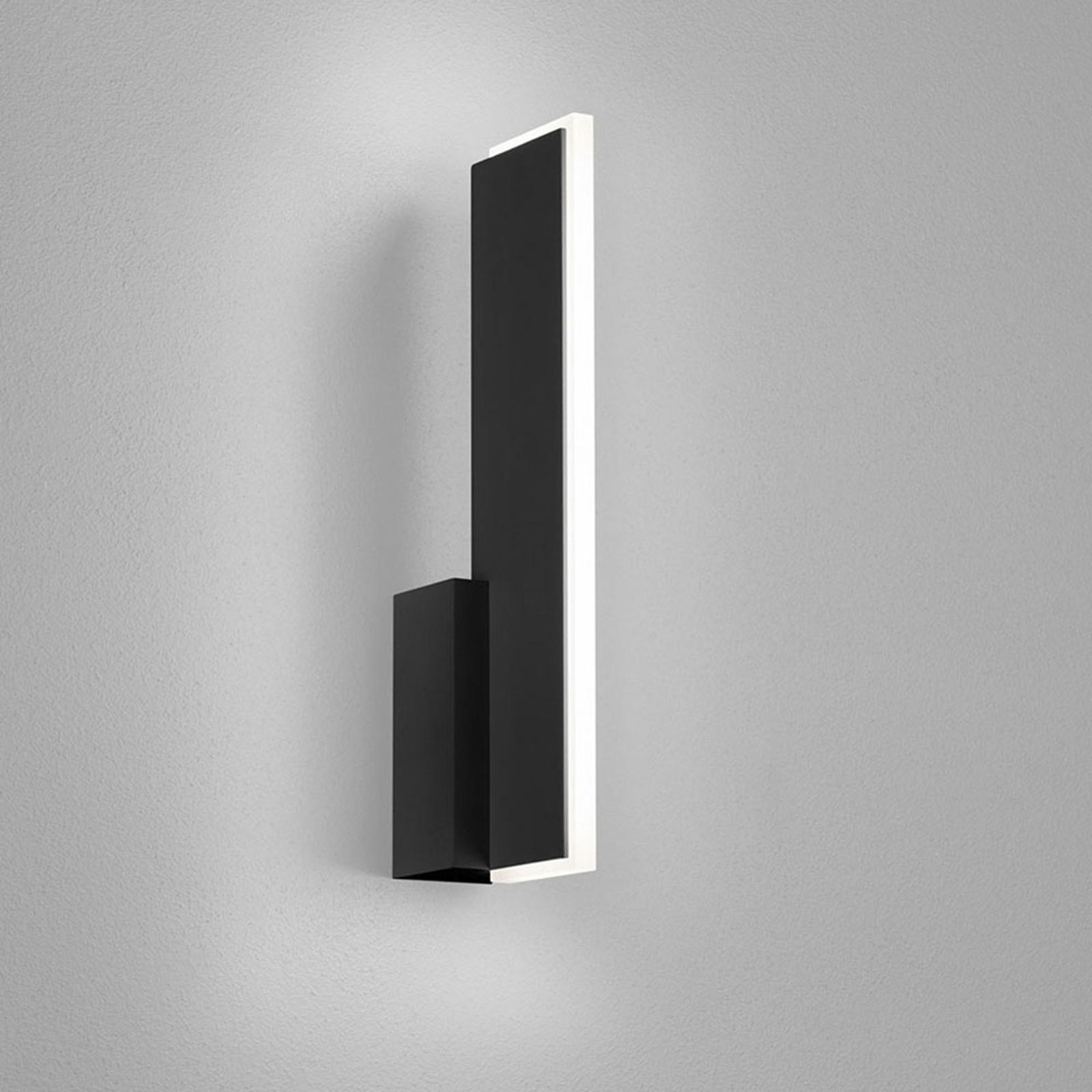 Helestra Nex LED-Wandleuchte schwarz matt