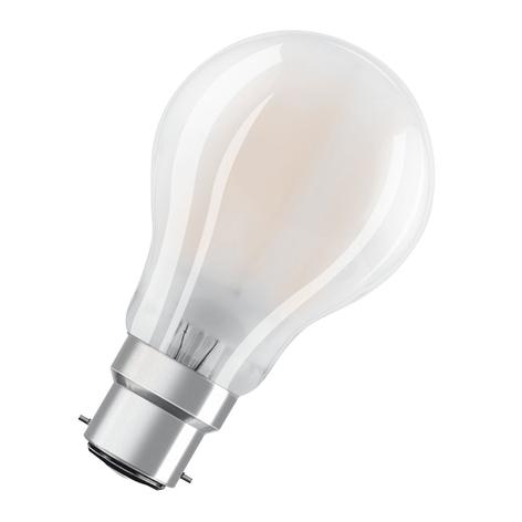 OSRAM LED lamp B22d Classic 827 7W dimbaar mat