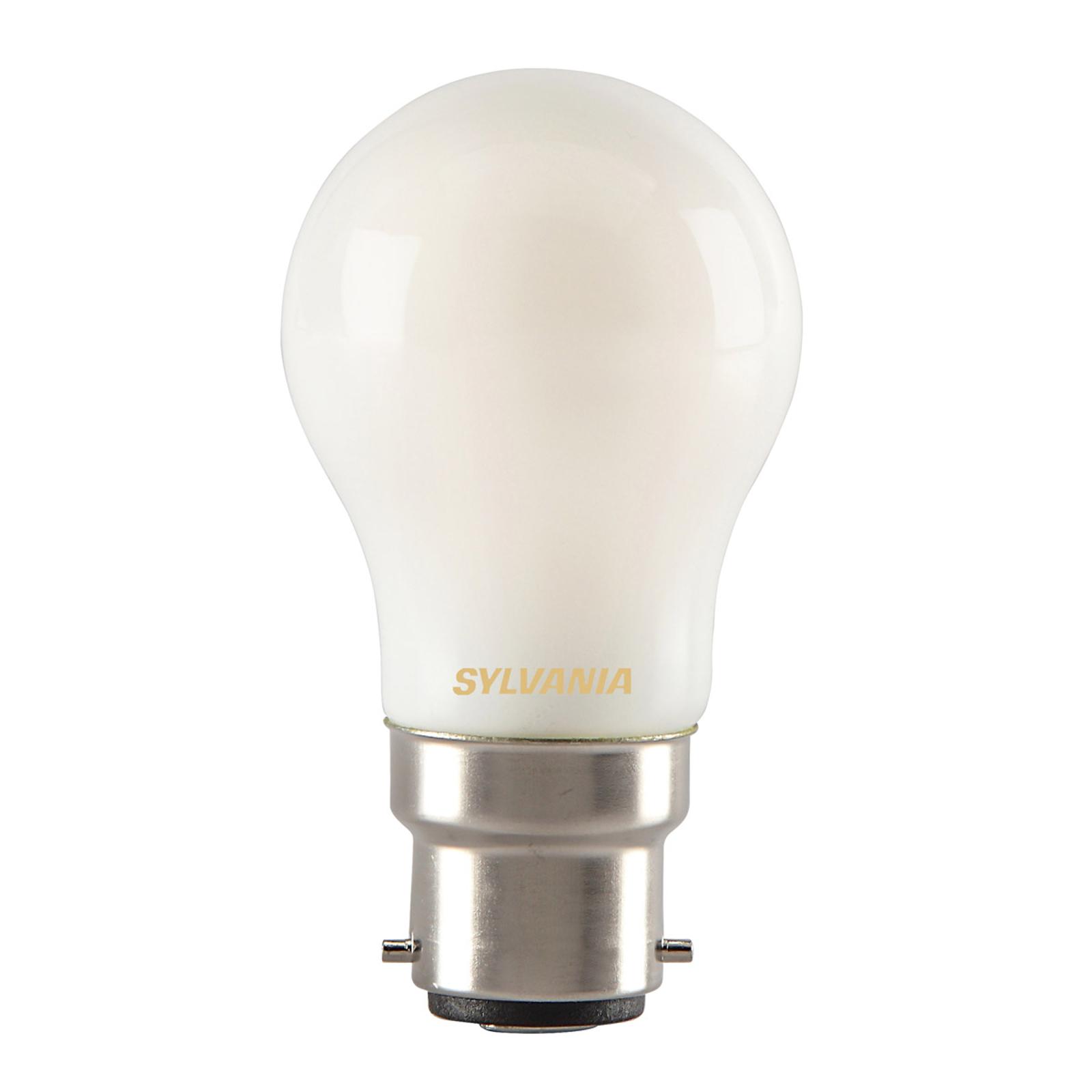 Ampoule goutte LED B22 4W 827, mat